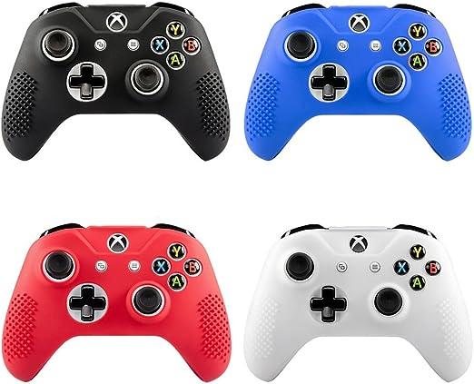 Funda de silicona antideslizante para mando de Xbox One S Slim/X ...
