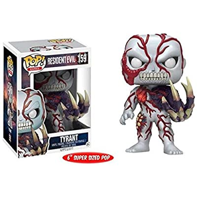"Funko Pop! Games Resident Evil Tyrant Exclusive 6"" Super Sized Vinyl Figure: Toys & Games [5Bkhe0201228]"