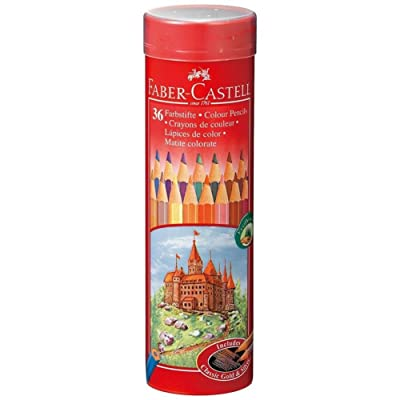 36 color set TFC-CPK/36C FABER-CASTELL colored pencil round can (japan import)