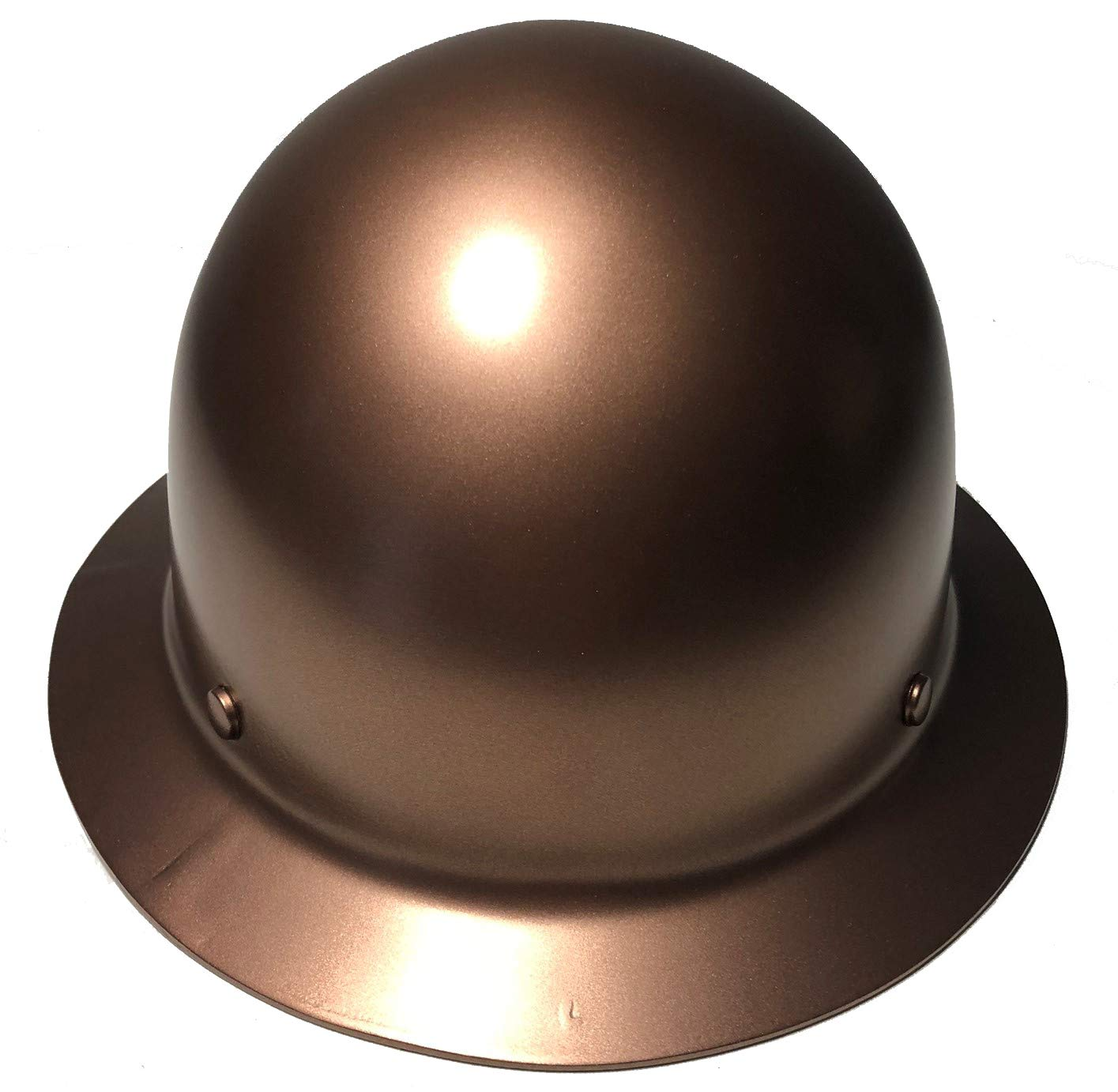 Hard Hat MSA Skullgard Full Brim Custom Copper Metallic Satin
