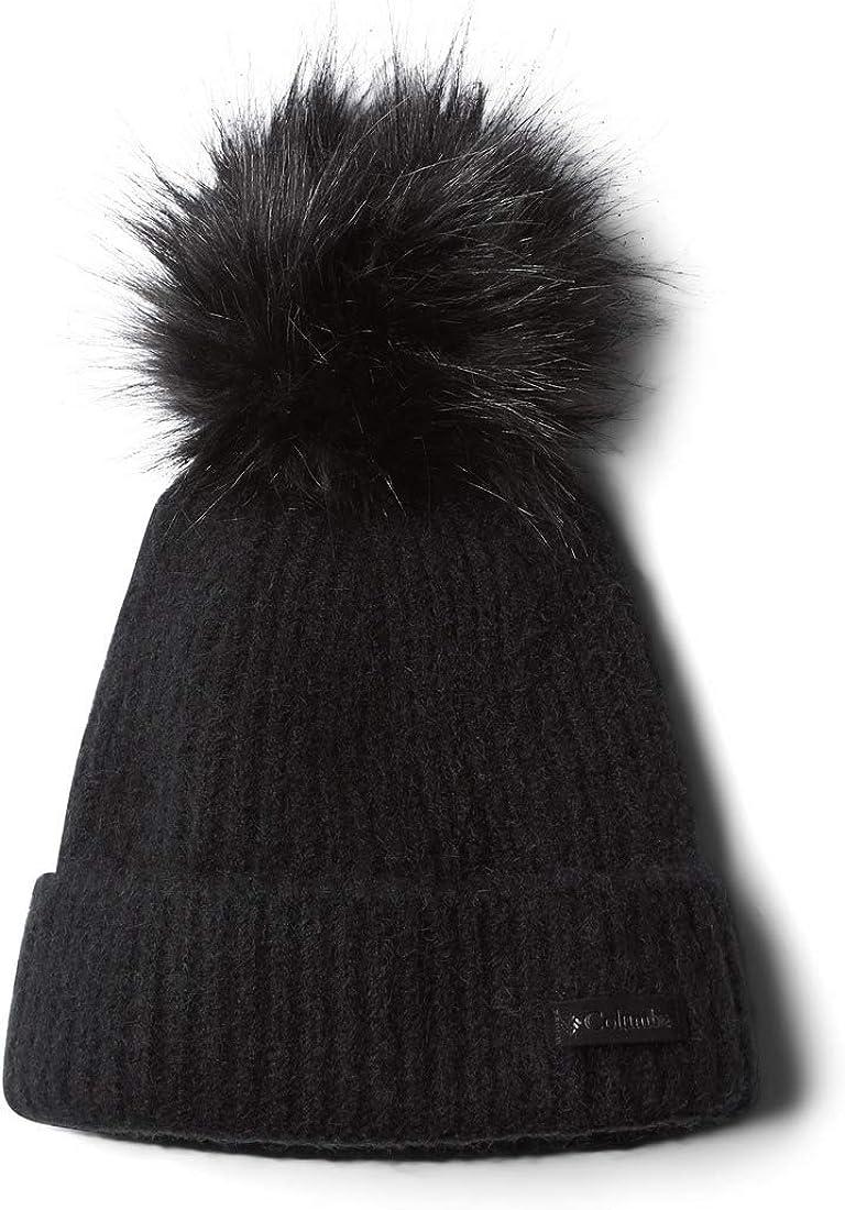 Columbia Winter Blur Pom Beanie Black One Size At Amazon Women S Clothing Store