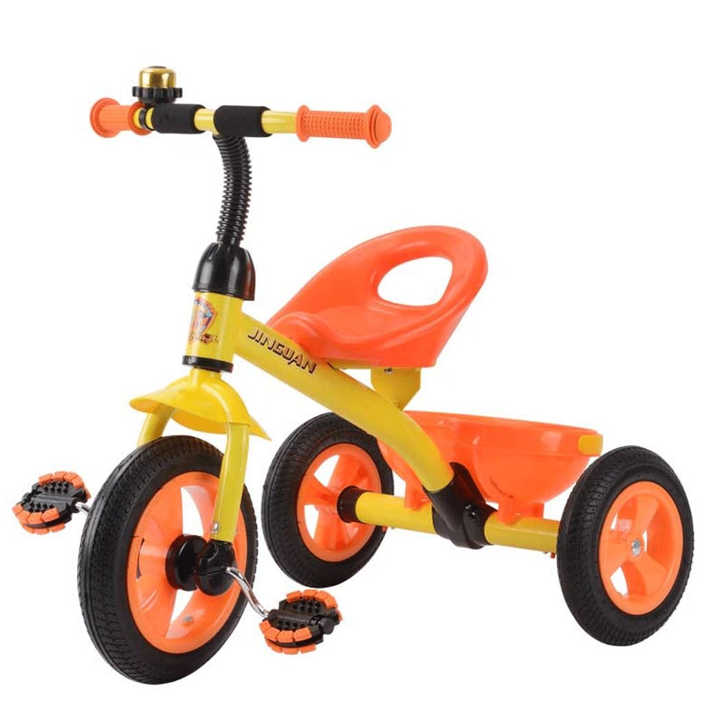 envío rápido en todo el mundo naranja Great Great Great St. DGF Triciclo de Niños DE 3-6 Años de Edad Cochecito de bebé de Juguete Bicicleta de Coche Inflable Gratis Kids Bike (Color   naranja)  ventas en linea