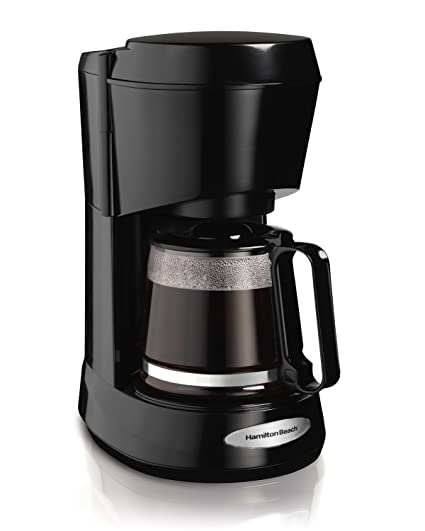 Amazoncom Hamilton Beach 5 Cup Coffeemaker Black With Mini Tool