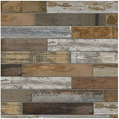 Montagna Wood Vintage Chic 6 in. x 24 in. Porcelain Floor and Wall Tile (14.53 sq. ft. / case)