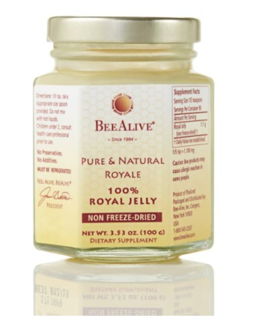 BeeAlive Pure & Natural Queen's Royale (Raw Royal Jelly)