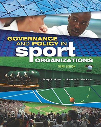 Governance+Policy In Sport Organization