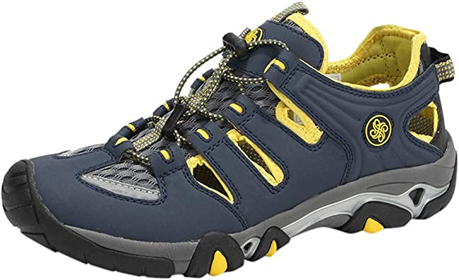 Zapatillas de Senderismo para Hombre Sandalias Trail Running Aire Libre Deporte montaña Ligeras Trabajo Trekking Montaña y Asfalto Zapatos para Correr Sneakers Calzado vpass: Amazon.es: Zapatos y complementos
