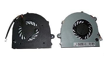 """FEBNISCTE ventilador de la CPU del ordenador portátil para TOSHIBA Satellite L500 L505 L555 15.6"""""""