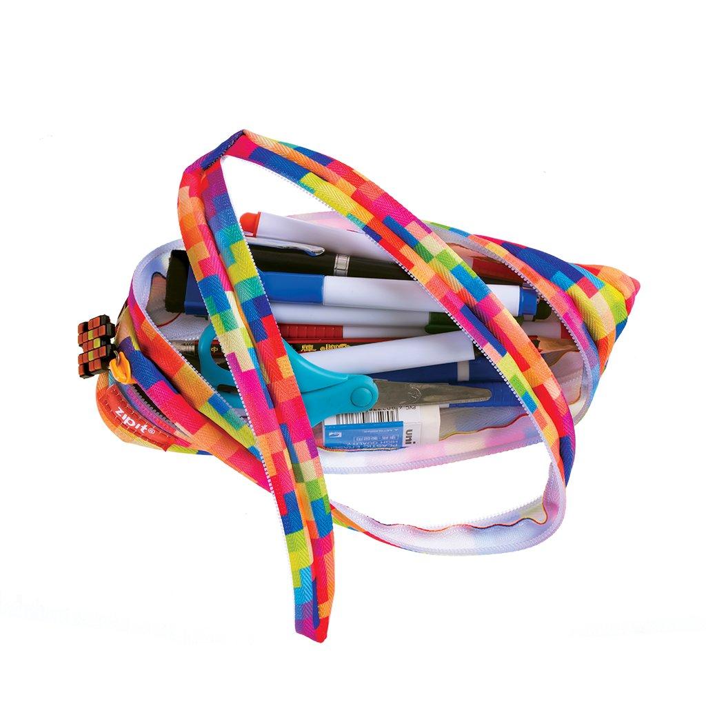 Kaleidoscope ZIPIT Fresh Colorz Pencil Box//Pencil Case//Storage Box