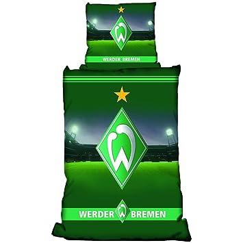 Werder Bremen Bettwäsche Stadion 155x220cm Amazonde Sport Freizeit