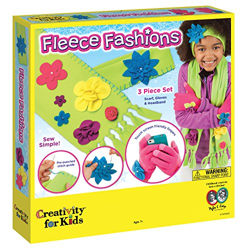 (Creativity for Kids Fleece Fashions Craft)