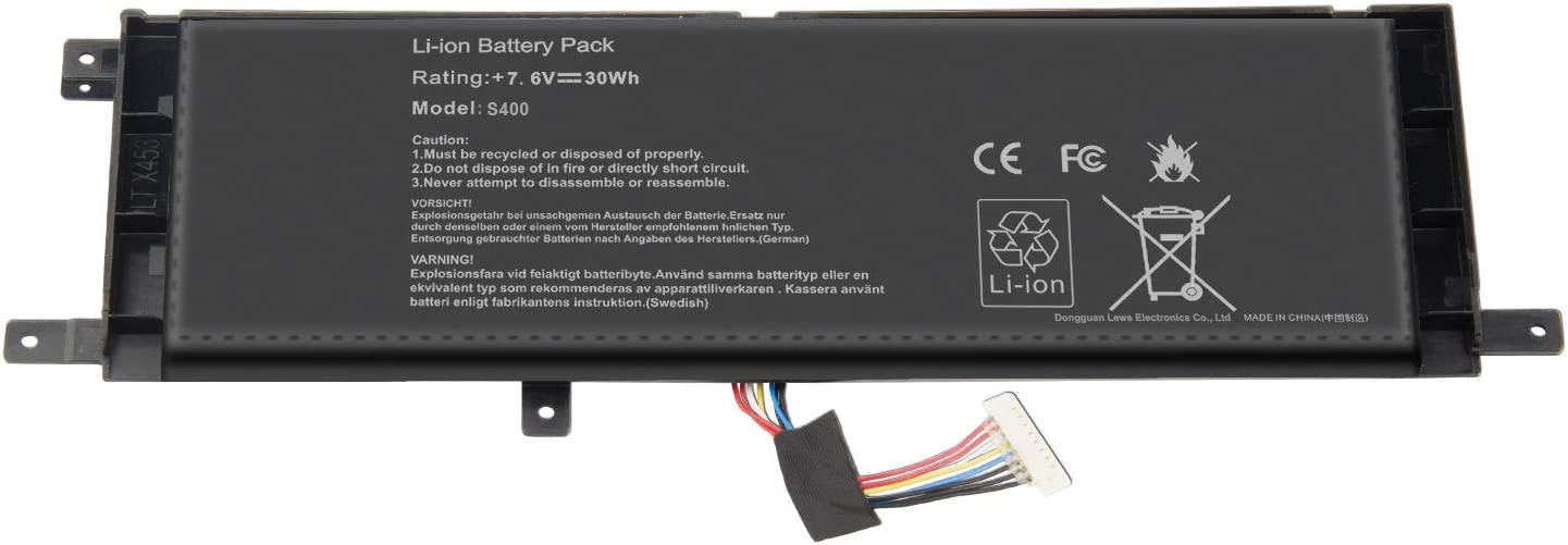 ARyee B21N1329 Laptop Battery Replacement for Asus X553MA X453MA X553M X453M X453 X553 X403 X403MA F453MA F453 F553M F553 D553M P553 P553MA Ultrabook Series 0B200-00840000