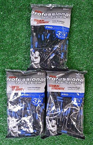 Pride Professional Teeチタン強度 – Pro長 – Plus 3 1 / 4 – 3パックの65 ( 11209 )   B01JJNQQRY