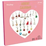 Advent Calendar 2020 kids ,Charm Bracelet DIY 23Charms with 1 Bracelet Fashion Jewelry Christams Advent Calendars for…