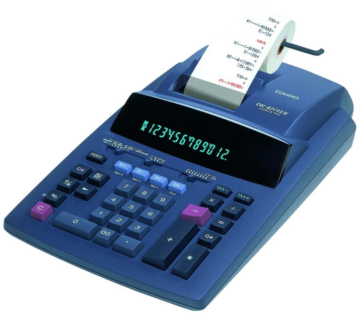 Casio Dr 420ter Calculadora: Amazon.es: Oficina y papelería