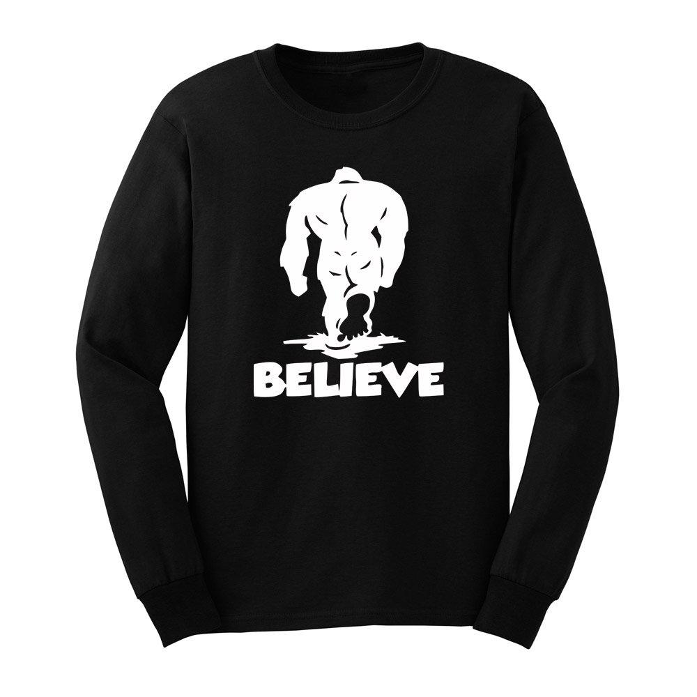 Loo Show S Bealieve Yeti T Shirts Casual Tee