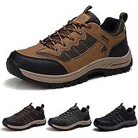 Zapatillas de Senderismo Hombre Transpirable Zapatillas de Trekking Antideslizantes AL Aire Libre Zapatos de Montaña