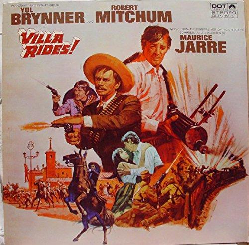 SOUNDTRACK VILLA RIDES vinyl record