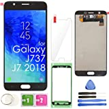 LCD Screen Replacement Touch Display Digitizer Assembly (Black) for Samsung Galaxy J7 2018 J737 SM-J737 J737A / J7…