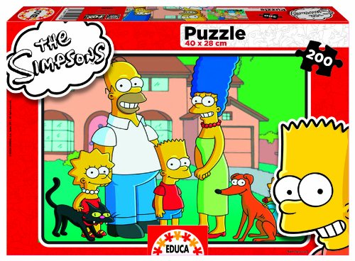 Educa Borrás 15298 - 200 The Simpsons