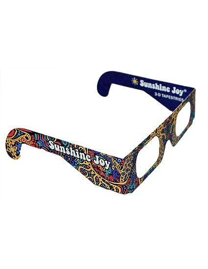 55bc6c0d5a Image Unavailable. Image not available for. Color  Sunshine Joy 3D Glasses  ...