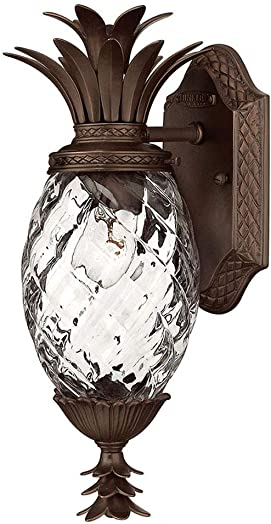 Hinkley Plantation Collection One Light Outdoor Extra Small Wall Mount