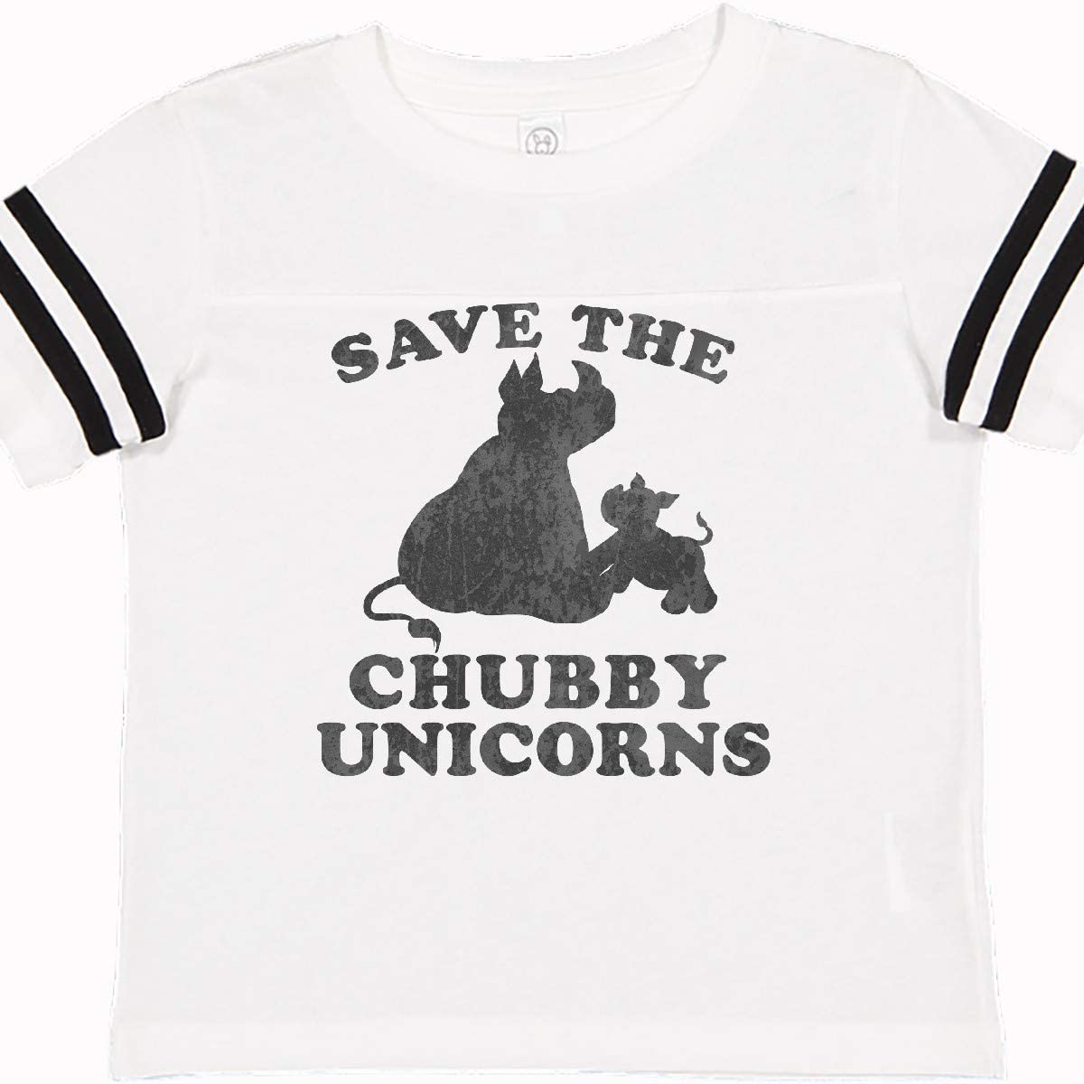 inktastic Save The Chubby Unicorns with Cute Rhinos Toddler T-Shirt