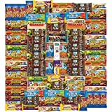 Ultimate Healthy Bar & Snacks Gift Variety Pack by Variety Fun(Care Package 100 Count)