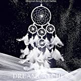 Denshine Dream Catchers Décor, Handmade White Dream Catchers for Bedroom, Cars India Style Dream Catchers with Feather Dream Catchers Wall Décor Dream Catchers for Kids Best Gifts for Kids