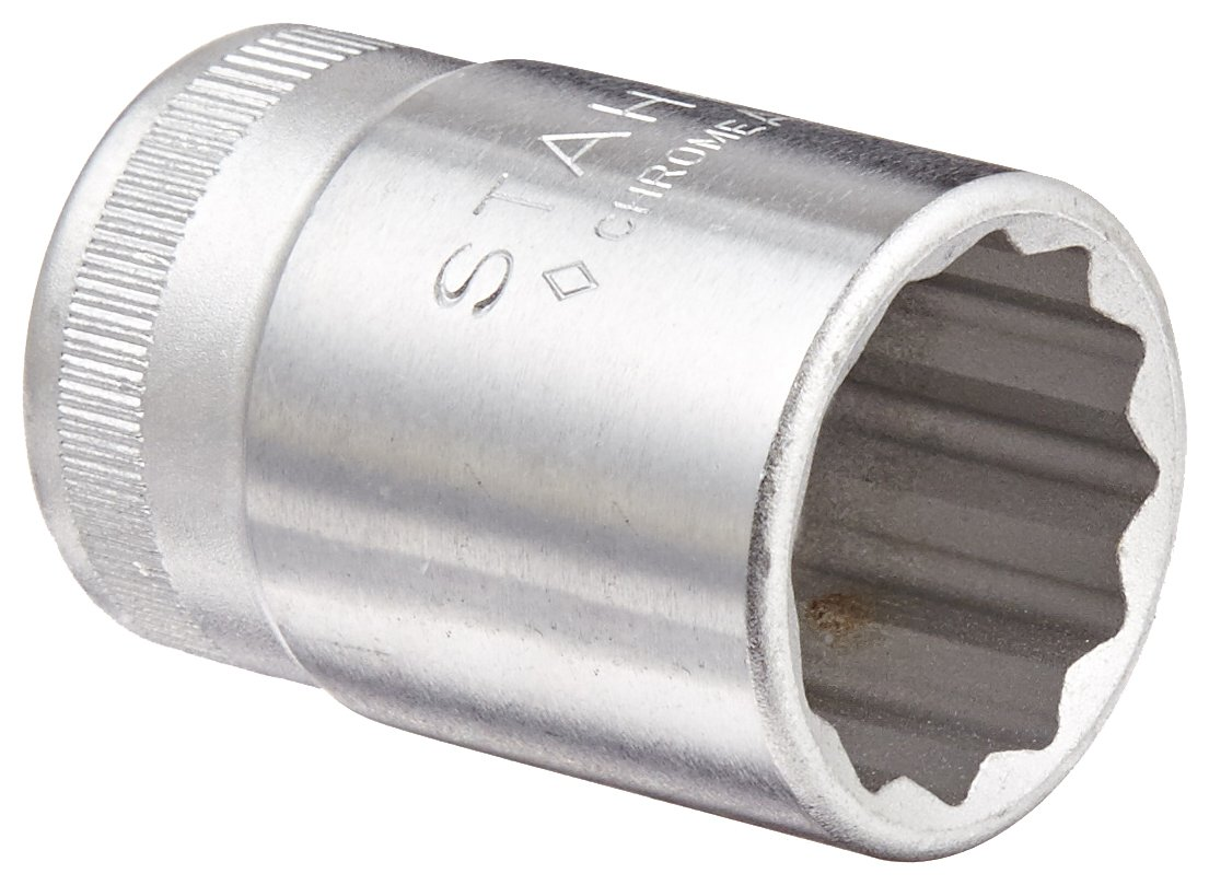 Stahlwille STW50A1116 1//2-Inch Drive 11//16-Inch Bi-Hexagon Socket Silver