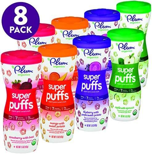 Baby & Toddler Snacks: Plum Organics Super Puffs