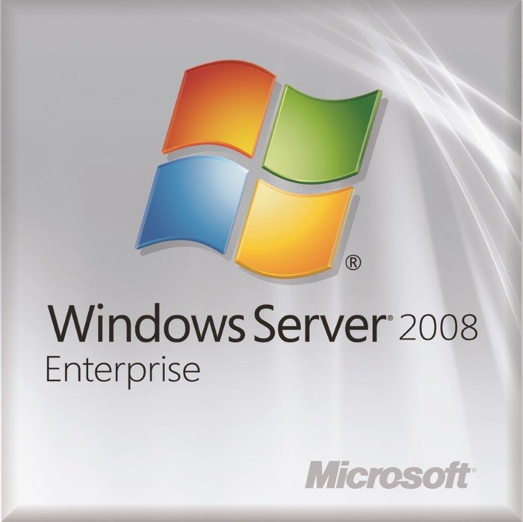 Microsoft Windows Server Enterprise 2008 R2 SP1 OEM (25 CALs)