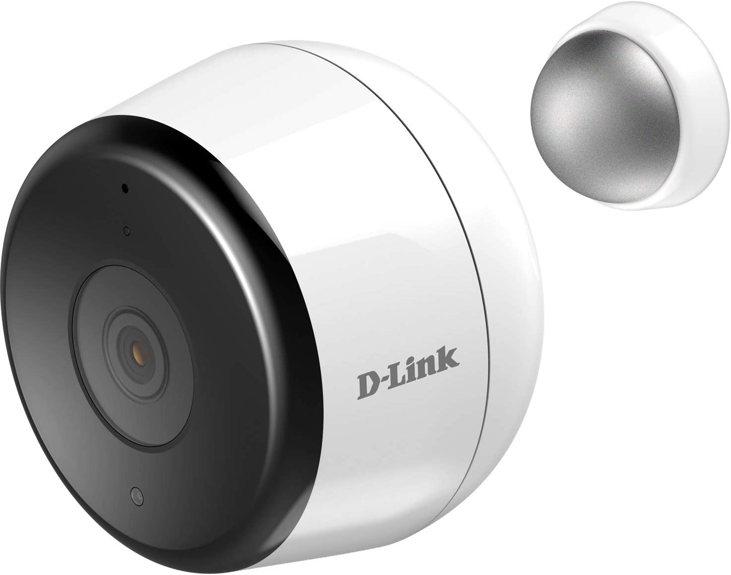 D-Link Outdoor Security Camera Wireless Wi-Fi Home Surveillance in Full HD, Phone App Notifications, Local & Cloud Recording Available, Works with Alexa (DCS-8600LH-US)