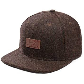 Vans Allover It Snapback Hat -Fall 2018-(VN0000X23N11) - Brown - One Size