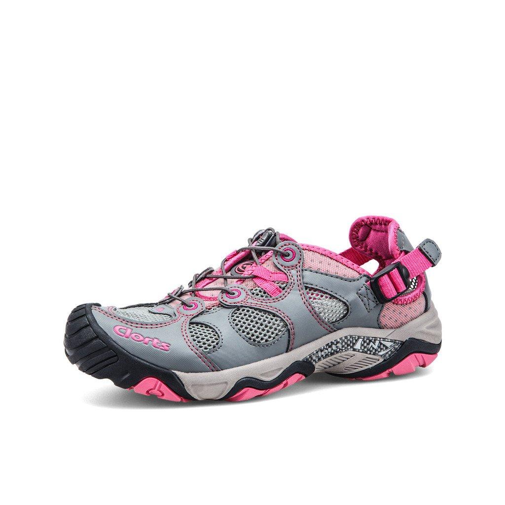 Clorts Women's Water Shoe Closed Toe Quick Drying Hiking Sandal 3H021C B00M498Z0W 6.5 B(M) US|Pink