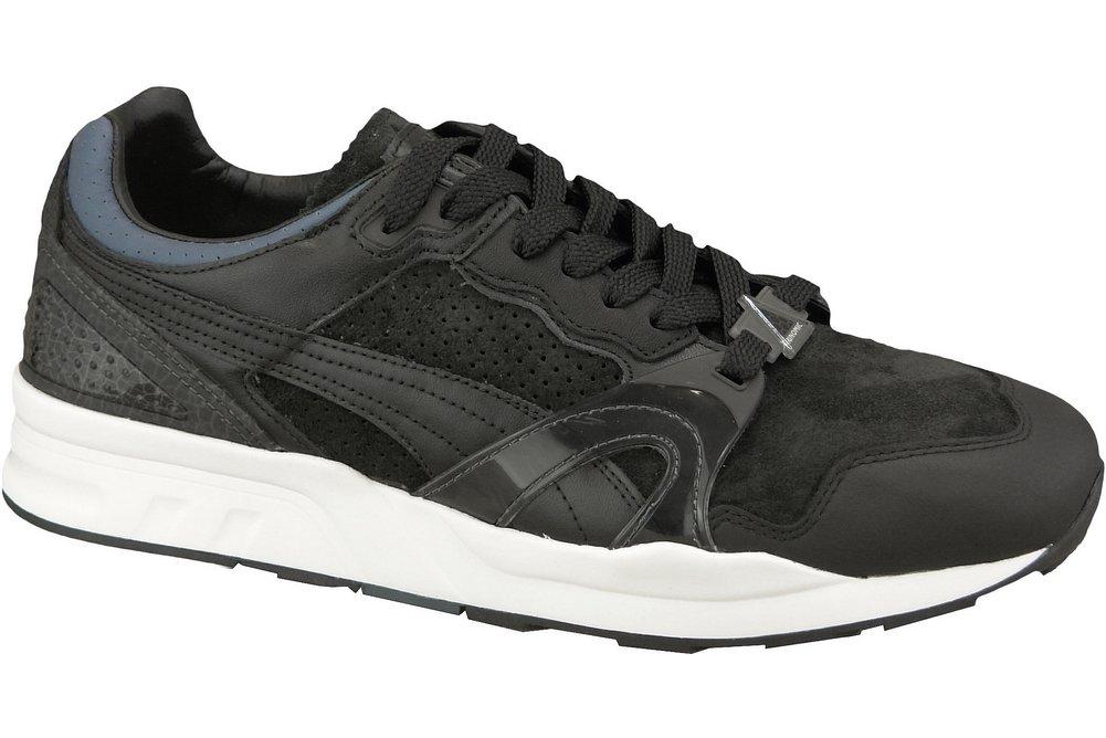 Puma Herren R698 Trinomic 359314 03 Sneaker  40.5 EUMehrfarbig (White 001)