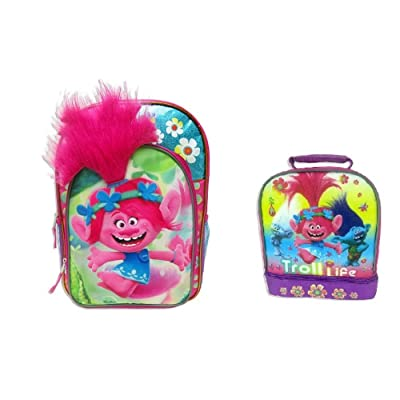 60%OFF DreamWorks Trolls Poppy Backpack & Lunch Bag Set