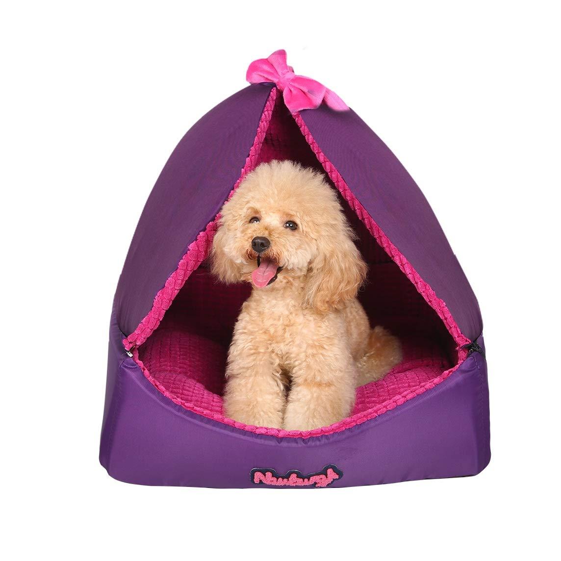 ペット用ベッド犬猫ベッドクッション四季柔らかく暖かいリムーバブルマシン洗えるスクラッチプルーフ用中小ペット (サイズ さいず : L l) B07MNF94NG  M M