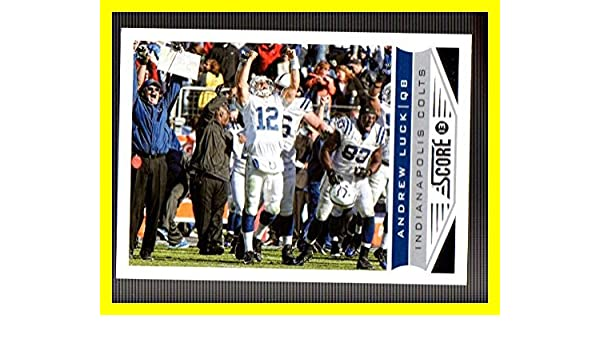 9c38623db9d Amazon.com  2013 Score  88 Andrew Luck INDIANAPOLIS COLTS STANFORD  CARDINALS  Collectibles   Fine Art