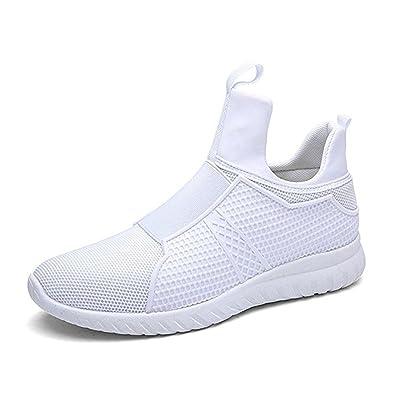 LAROK Men s High Top Breathable Running Shoes 3157f184db31