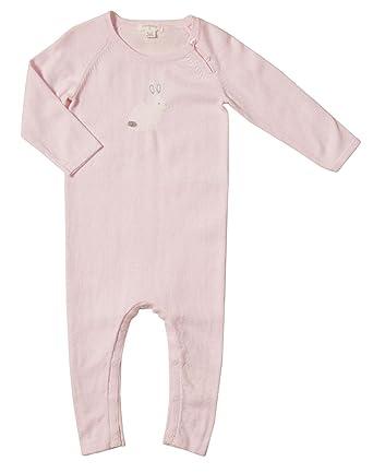 Amazon.com: purebaby bebé punto de las niñas Growsuit (bebé ...