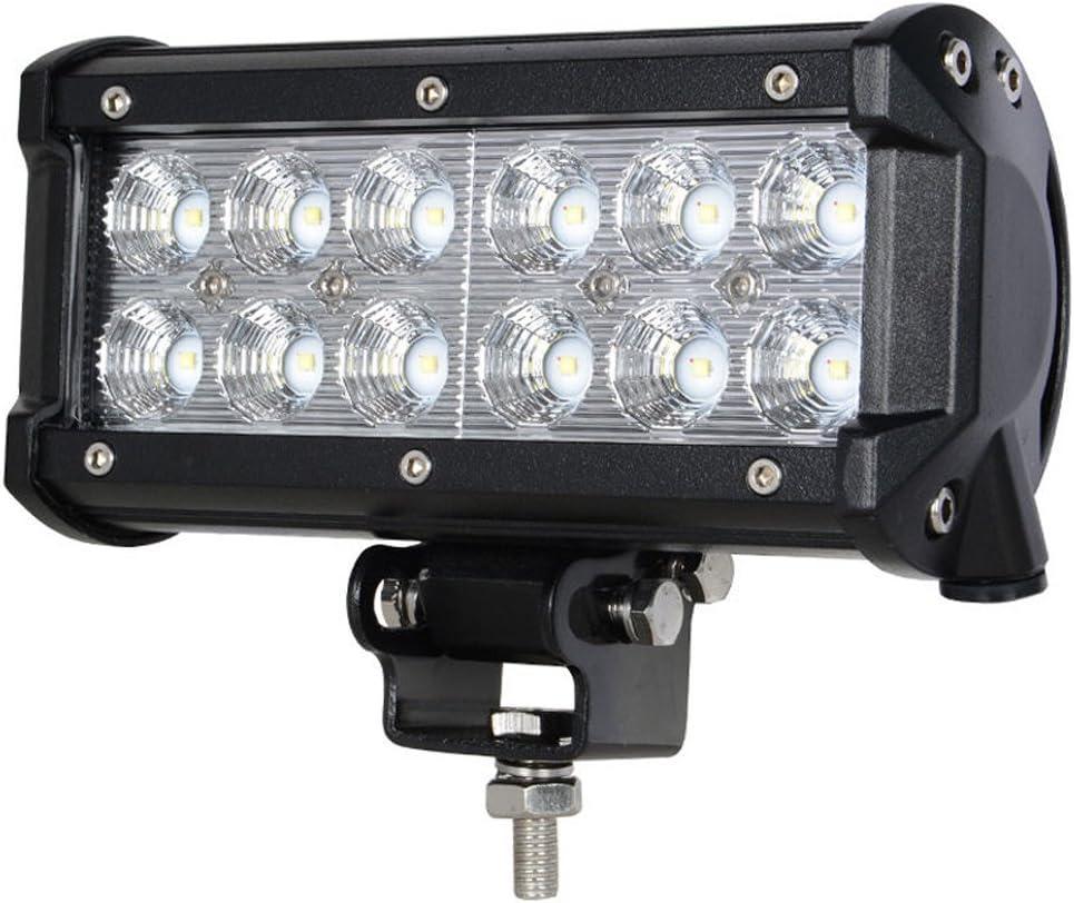 Greenmigo 2X 18W Led Arbeitsscheinwerfer Offroad Lampe Flood Scheinwerfer LED Arbeitslicht Light Bar 12V 24V Zusatzscheinwerfer R/ückfahrscheinwerfer f/ür Traktor Bagger SUV 60 Grad Wasserdicht IP67 1560LM