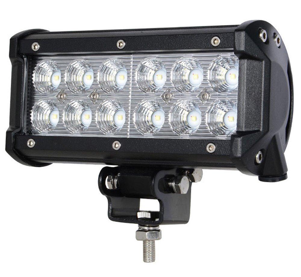Leetop 6X 18W Focos LED Lampara Coche Faro Trabajo Luz LED Luces Coches Diurna Iluminacion LED para Coche