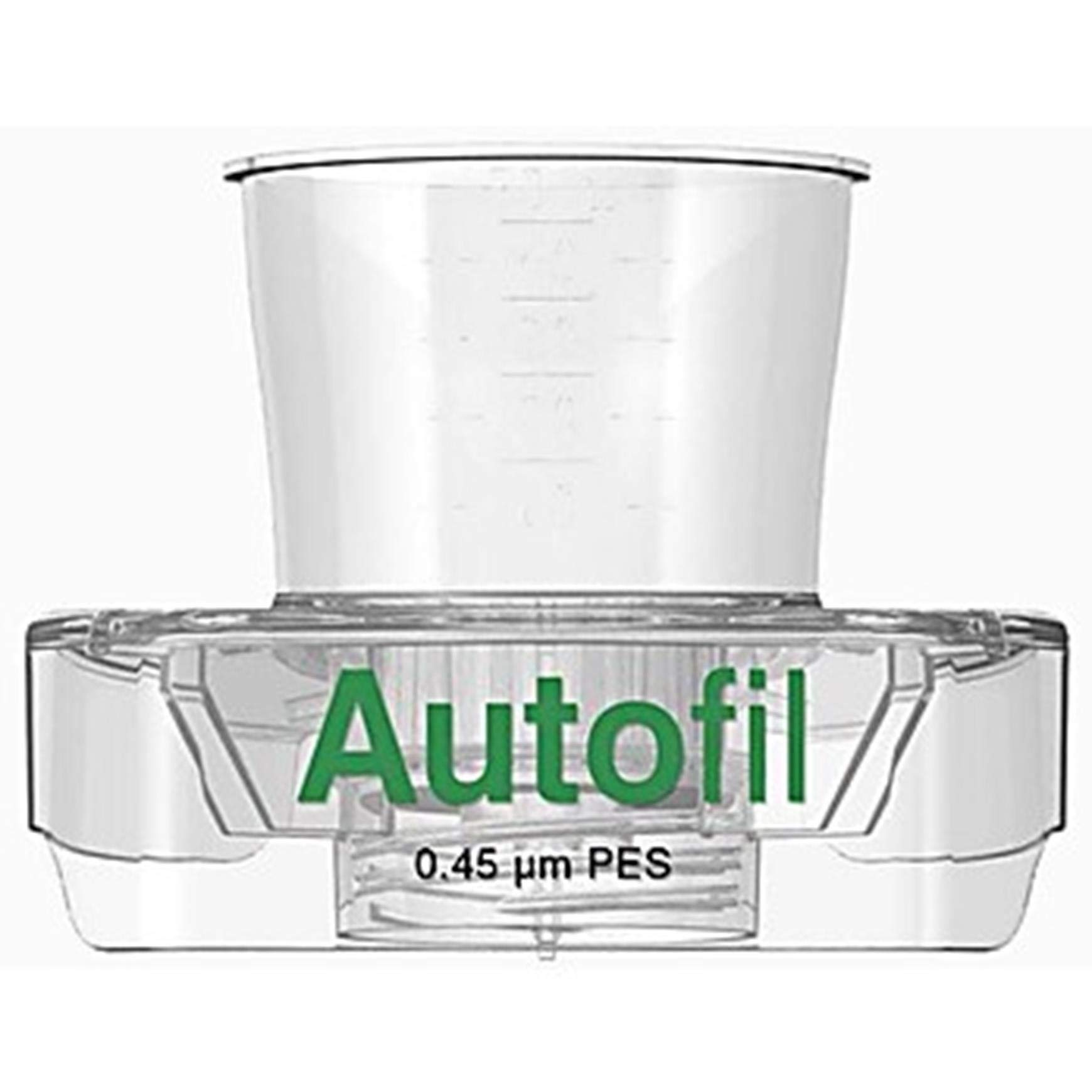Autofil Sterile Disposable Vacuum Bottle Top Filters with 0.45um PES Membrane for Prefiltration or Clarification, 500mL, 24/CS by Foxx Life Sciences