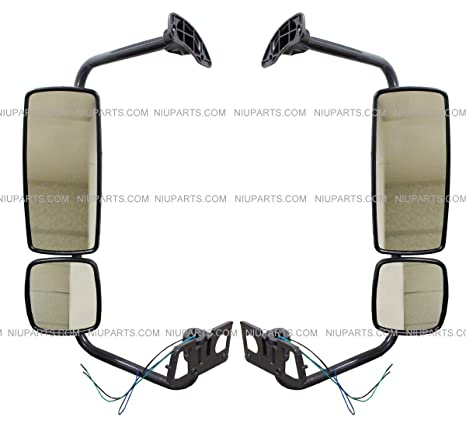 Door Mirror w// Arm Passenger Side RH For International Truck 4300 DuraStar