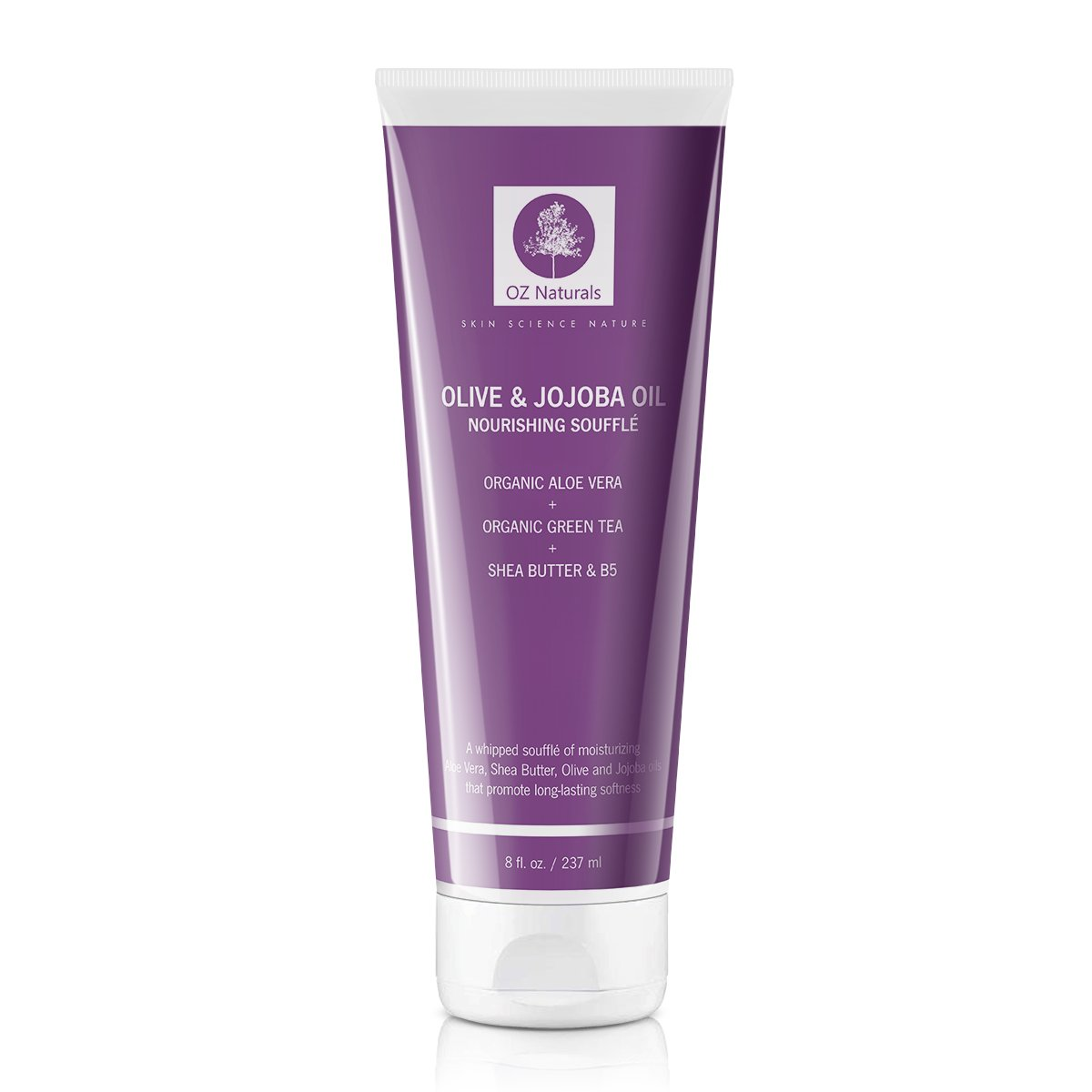OZNaturals Body Moisturizer- This Natural Moisturizer Contains Shea Butter, Olive & Jojoba Oil Whipped Into A Rich Soufflè Which Will Provide Your Skin With A Healthy Glow! OZ Naturals PW-LX9G-R862