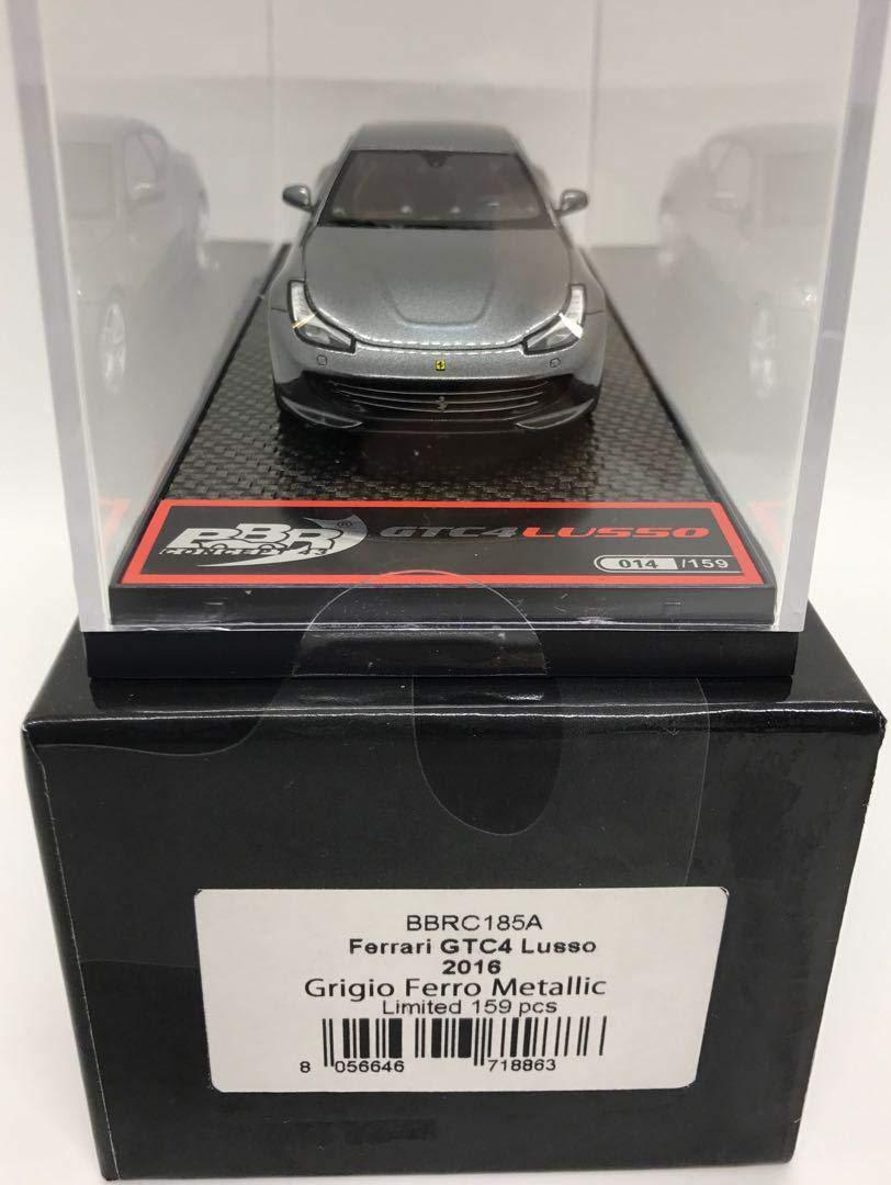 1/43 BBR製 2016 フェラーリ GTC4ルッソ グレーメタ 美品 B07T4FKCXM