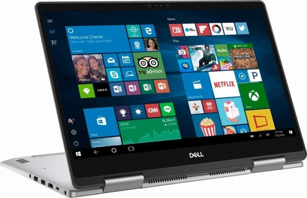 Dell Inspiron 15 i7573-5132GRY-PUS 15.6'' Full HD IPS 2-in-1 Touchscreen Laptop, Intel Quad-Core i5-8250U up to 3.4GHz 8GB DDR4 256GB SSD Win 10 (Renewed)
