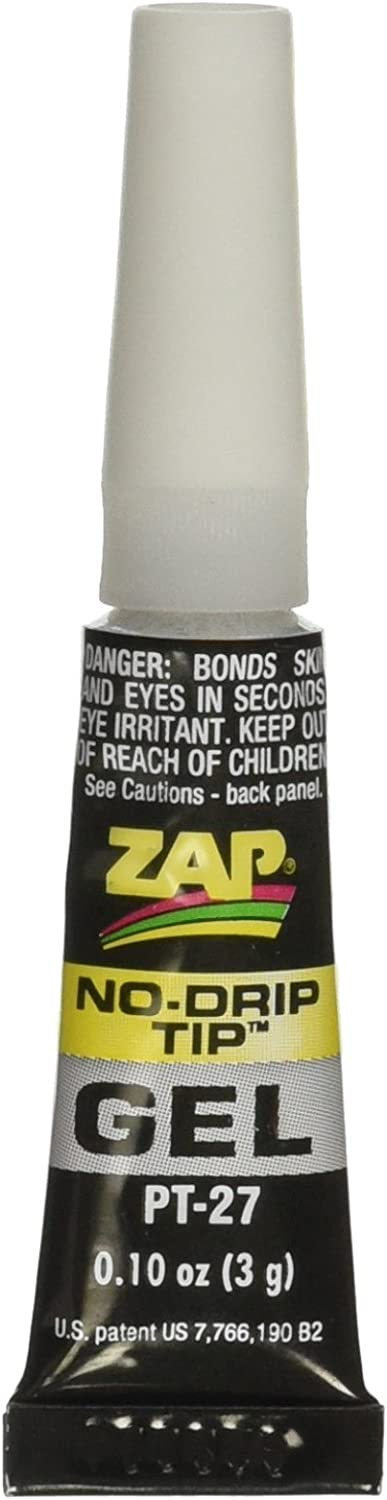Pacer Technology (Zap) Zap Gel Tube Adhesives, 3g