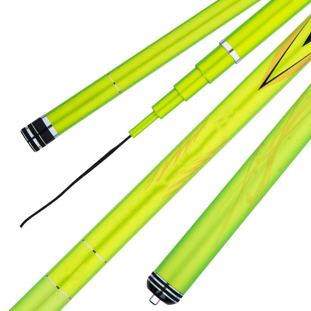 釣り竿 - 超軽量スーパーハードカーボン8H硬度塩水淡水釣り用具 (サイズ さいず : 4.2m) 4.2m  B07QM6JGL9